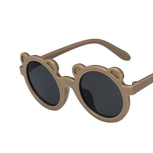 NJJX Moda Retro Redondo Niños Gafas De Sol Moda Niños Lindos Gafas De Sol Niños Niñas Bebé Al Aire Libre Gafas Sombras Gafas Estilo1-2