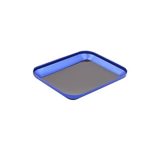 Skryo🛩🛩 Rc Auto Magnetisch Schrauben Fach für HSP 94123 94188 94122 Grasshopper Lunchbox (Blau)
