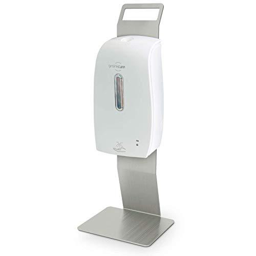 Dispensador de desinfección de pie para desinfectante sin contacto como sistema de dispensador de desinfección