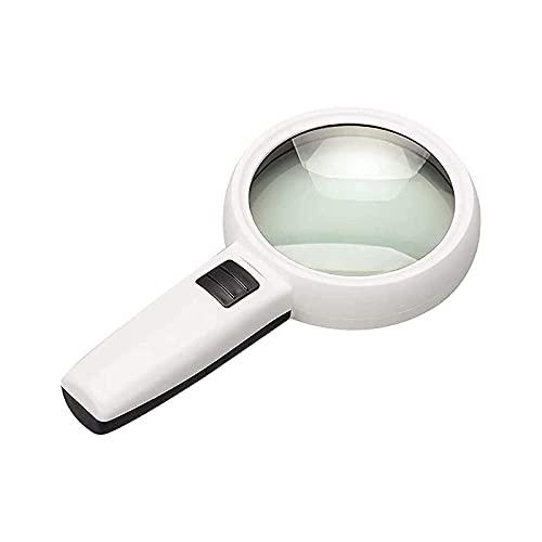 LSLS Lupa LUZ Lupa de Lupa con luz LED para Lectura LUGLER LOUPE LOUPE LOUPADA LUPLE LÁMPARA LÁMPARA LÁMICA ÓPTICA ÓPTICA ÓPTICA 30X Lupa de Mano Lupa de Lectura