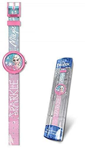 Disney Frozen Reloj analogico flik Kids Pulsera, Adultos Uni