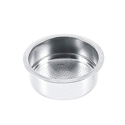 VIFERR Filter mand, Koffie 2 Cup Niet onder druk Filter Mand Strainer, RVS Koffiemachine Filter voor GUSTINO