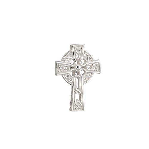 Jewelry Celtic Cross for Men Pin Tie Tack Made in Ireland