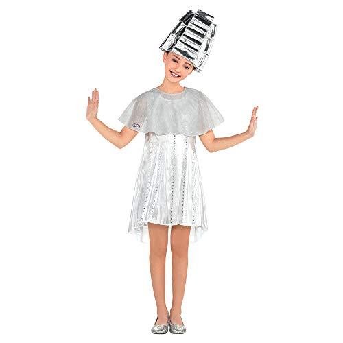 amscan 8401424 Girls Grease Beauty School Dropout Angel Set, Girls Standard 1 Set White