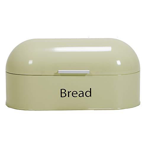 Retro Brotkasten aus Stahl in Weiß, Frischhaltend von Chef Vida
