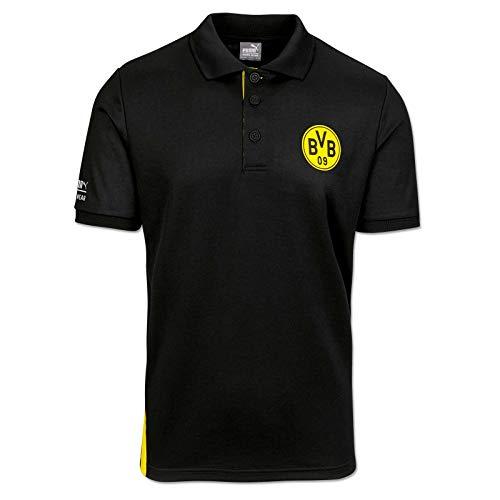PUMA WORK WEAR BVB Edition Premium Polo-Arbeitsshirt aus robustem Gewebe - Gr. 5XL