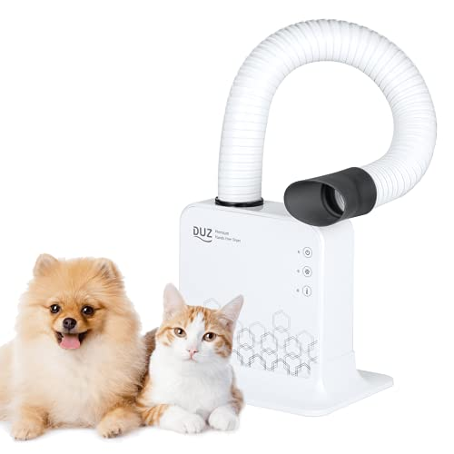DUZ dog dryer / forced air dryer for dogs / pet blower / dog grooming blower / dog dryers grooming professional / pet dryers for dog grooming