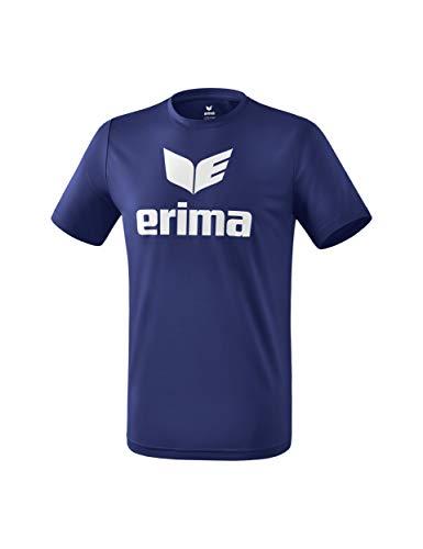 ERIMA Kinder T-shirt Funktions Promo T-Shirt, new navy/weiß, 152, 2081913