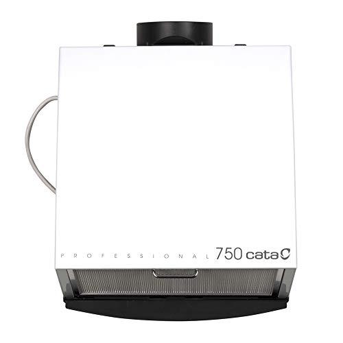 Cata | Extractor de cocina silencioso | Modelo Professional 750 | Ancho de 36,6 cm | Con Bandeja Recoge grasas | Gran Capacidad de Extracción | Clase de Eficiencia Energética C