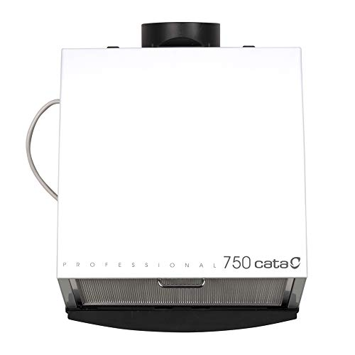 Cata Professional 750 L - Extractor centrífugo de cocina, 185 W, color blanco y gris