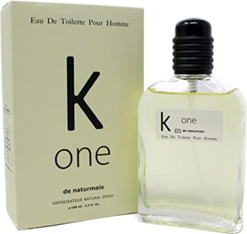 Profumo Uomo K one Compatibile con CK One | Eau de Toilette Intense 100ml (K ONE)
