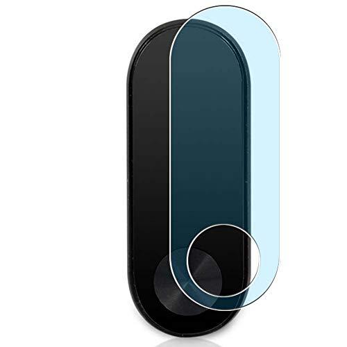 Vaxson 3 Unidades Protector de Pantalla Anti Luz Azul, compatible con Xiaomi Mi Band 2 smartwatch Smart Watch [No Vidrio Templado Carcasa Case ] Película Protectora Film Guard