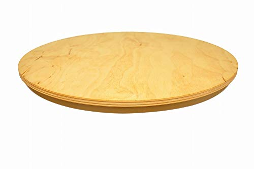 Tabla giratoria Lazy Susan redonda. Circular de madera giratoria. Para servir pizza de 30 cm.