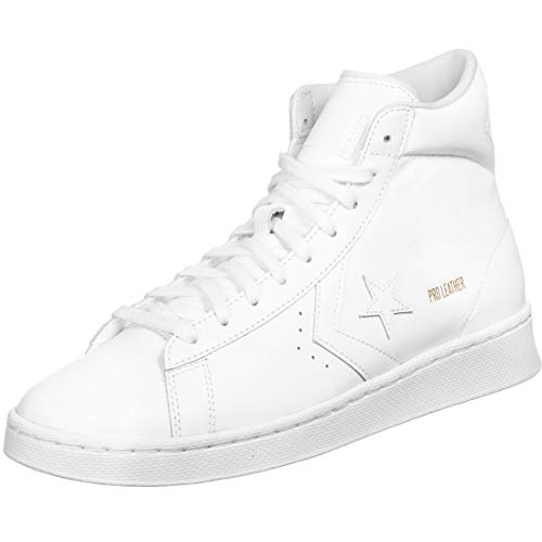 Converse Pro Leather Mid Schuhe White/White