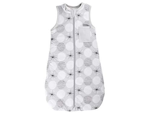 Bio Baby Schlafsack Jersey kurzarm 100% Bio-Baumwolle (kbA) GOTS zertifiziert, Kreis, 90 cm
