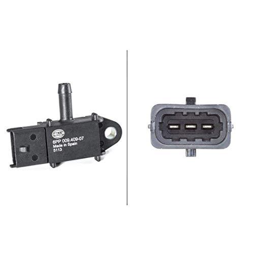 HELLA 6PP 009 409-071 Sensor, Abgasdruck - 3-polig - geschraubt