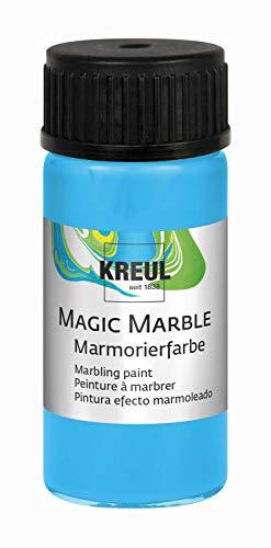 KREUL, Vernice per marmorizzazione Magic Marble, Azzurro, 20 ml, Colore, 73210