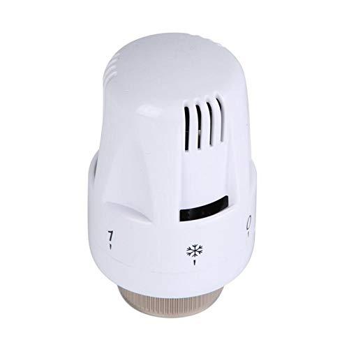 Válvula de calentamiento de agua, buen efecto de disipación de calor Válvula de radiador termostático recto para disipación de calor de calentamiento de agua y válvula de control geotérmico(heat sink)