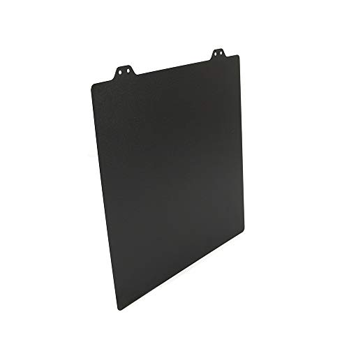 XIAOMINDIAN 235x235mm Double Sided Textured PEI Spring Steel Sheet Black Powder Coated PEI Plate For Creality ENDER-3 / Ender 3s Tevo Flash Printer Parts