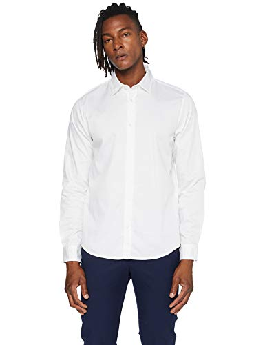 BOSS Mypop_3 Camisa, White (100), S para Hombre