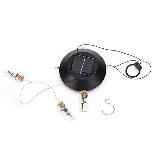 Mumusuki Solar Power Hanging LED Kleurrijke Windbell lamp kleurverandering licht wensfles wind klokkenspel decoratie voor de tuin