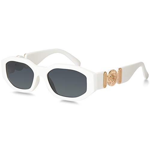 Mosanana Gafas de sol rectangulares de moda para mujer 2021 estilo de moda