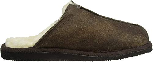 Shepherd Herren HUGO SLIPPER Pantoffeln, Braun (OILD ANTIQUE 53), 44 EU