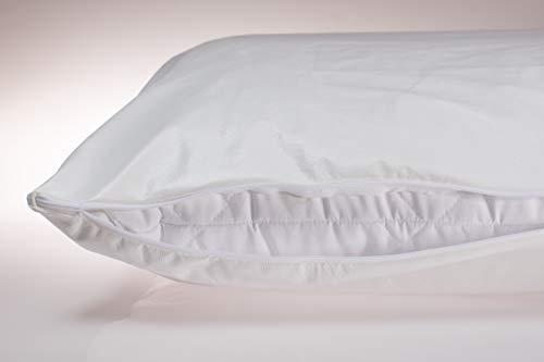 Fiducia abwaschbarer, wischdesinfektionsgeeigneter Matratzenvollbezug/Decken-Kissenbezug, Schutzbezug, Inkontinenz, Pflege Verschiedene Größen (80x80)
