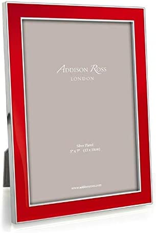 Addison Ross Red Enamel 5x7 All items free shipping Frame Picture Direct sale of manufacturer