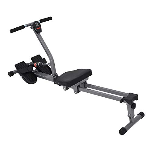 ESF Regatta Rowing Machine, Total Motion Rowing with 8 Levels Resistance Adjustment Fitness Equipment for Home Gym