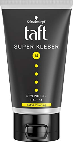Taft Styling Power Gel Super Kleber Sofort-Fixierung Halt 14, 150 ml
