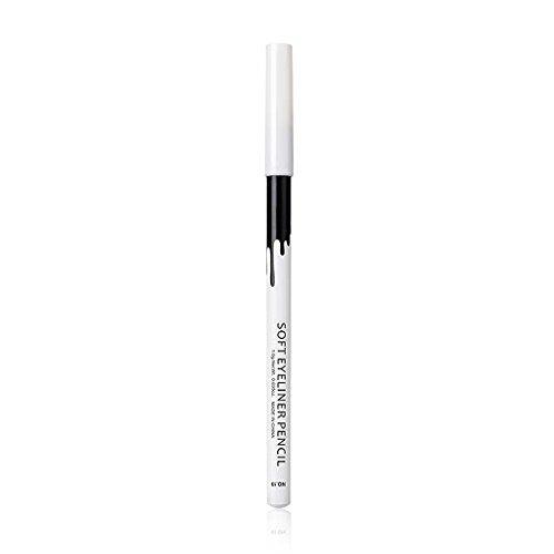 Zerama Femmes Filles Eyeliner Blanc Pen Crayon Fard à paupières Hightlighter Waterproof Femme lèvres Pigment Pen