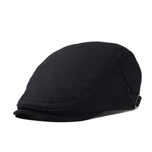AROVON Moda Masculino Tapa Plana de Ocio Hombres Newsboy Sombrero Invierno Caballero Boina Sombrero
