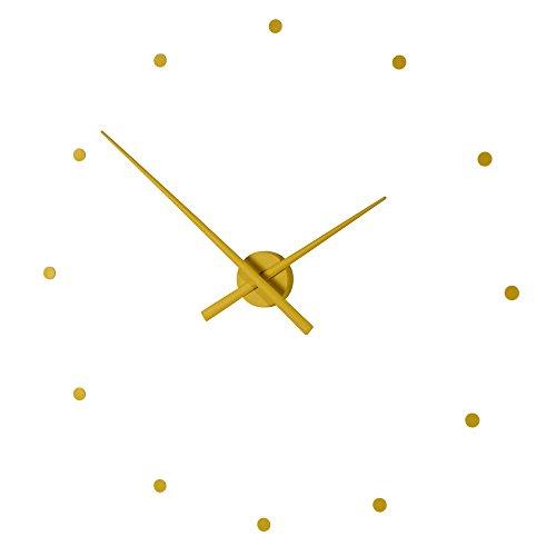 NOMON Horloge Murale OJ Moutarde 80 CM Design Moderne