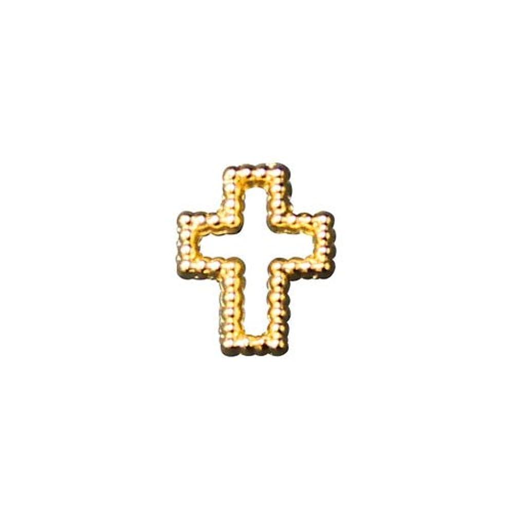 米ドル現代バイオレットプリティーネイル ネイルアートパーツ ブリオンクロス2 M ゴールド 12個