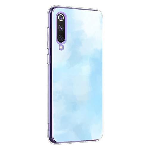 Suhctup Funda Compatible con Xiaomi Mi 8 Lite,Carcasa Transparent Silicona TPU Gel Dibujos Animados Ultra Fina Antigolpes Protector Piel Estuche Bumper Case para Xiaomi Mi 8 Lite(8)