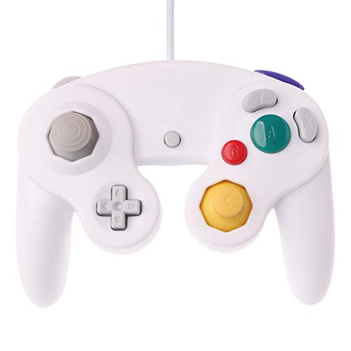 Planuuik NGC Wired Game Controller Gamepad Gamecube voor WII Video gameconsole-besturing met GC-aansluiting