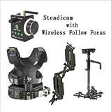 GOWE 2.5-15kg Load Camera Steadicam with Wondlan Wireless Follow Focus