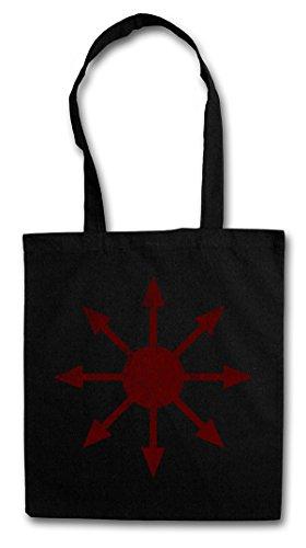 Urban Backwoods Chaos Vintage Symbol I Hipster Bag Beutel Stofftasche Einkaufstasche