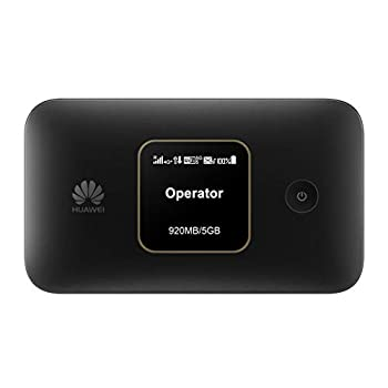 Huawei E5785Lh-22c 300 Mbps 4G LTE Mobile WiFi  4G LTE in Europe Asia Middle East Africa & 3G globally 12 hrs working Original OEM item   Black