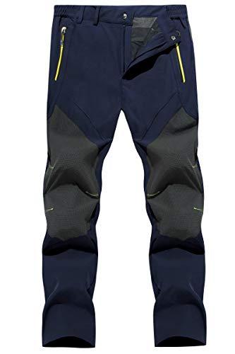 MAGCOMSEN Waterproof Pants Mens Hiking Pants Mens Quick Dry Pants Lightweight Pants Spring Pants Summer Pants Mens Work Pants Fishing Pants