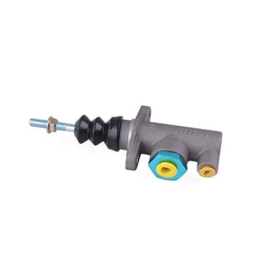 SSGLOVELIN Aluminium CP2623 Racing Hauptzylinder Fit für hydraulische Handbremse Handbrete RS-HB903 (Color Name : Silver)