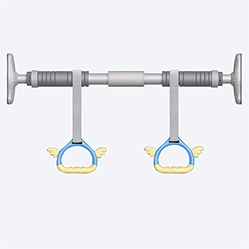 Barra Dominadas Barra Pull-up De Puerta Ajustable, Sin Tornillo De Pared Barra Horizontal, Kit De Equipos De Adultos Y Fitness para Niños, Ajustable 70-145 Cm (Size : 116-145CM)