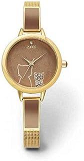 زايروس ساعة رسمية نساء انالوج بعقارب خليط معدني - ZY0017