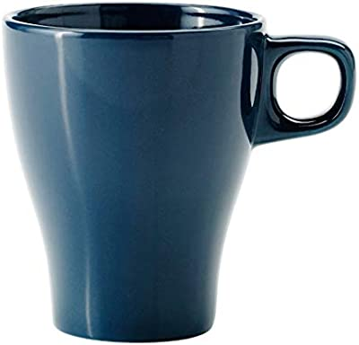 Ikea Stoneware Coffee Mug - 4 Pieces, Turquoise, 250 ml