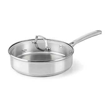 Calphalon Classic Stainless Steel Cookware Saute Pan 3-quart