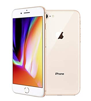 Apple iPhone 8 64GB Gold - for Cricket Wireless  Renewed