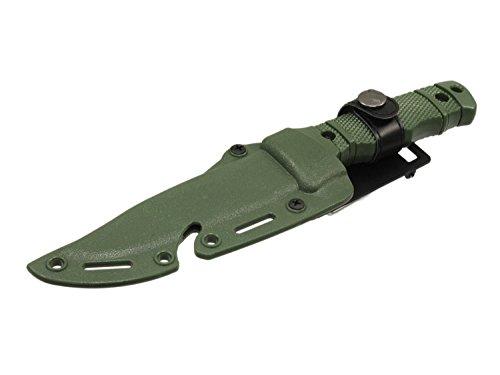 UFC Übungsmesser/Dekomesser/Dummy Messer Typ M37 mit Scheide & Clip - Olive