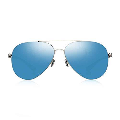 JIAXIAO Zonnebril, heren gepolariseerde kikker gepolariseerde mannen gepolariseerde zonnebril, gepolariseerde zonnebril, geschikt voor klassieke, zakelijke, sport, casual stijl.