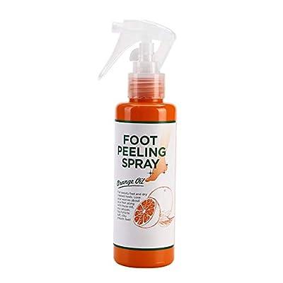 Fußpeeling-Spray Orangenöl Fußreparatur-Peeling-Fußfeuchtigkeitscreme Fußpeeling-Spray